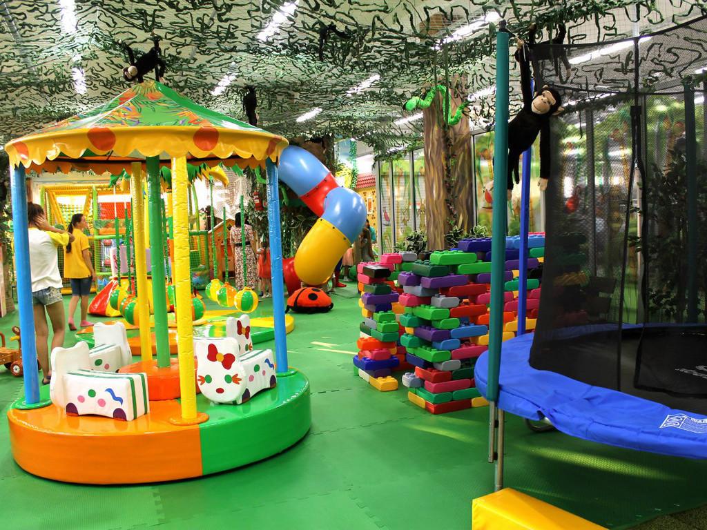 детские игровые залы