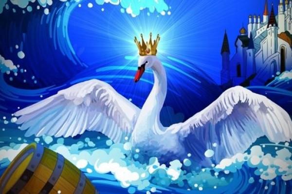 Царевна лебедь сказка пушкина картинки