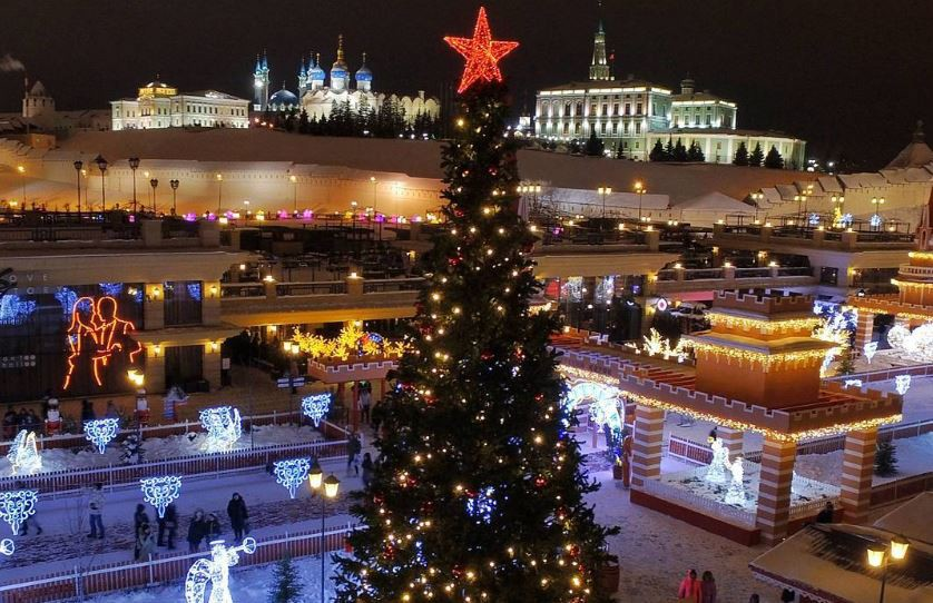 мы, казань кремлевская набережная фото зима остров также считается