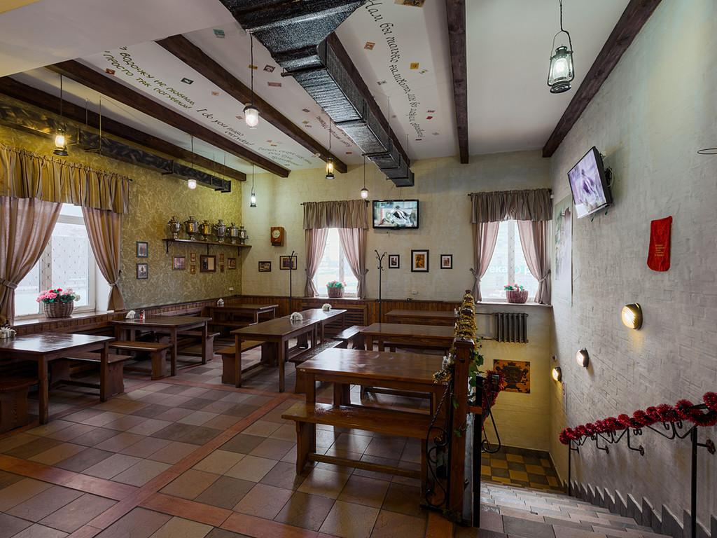 Народный трактир старый амбар - прекрасное место для того, чтобы приятно провести время